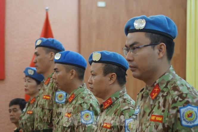 Thêm 7 sĩ quan Việt Nam đi gìn giữ hoà bình Liên hợp quốc - ảnh 1