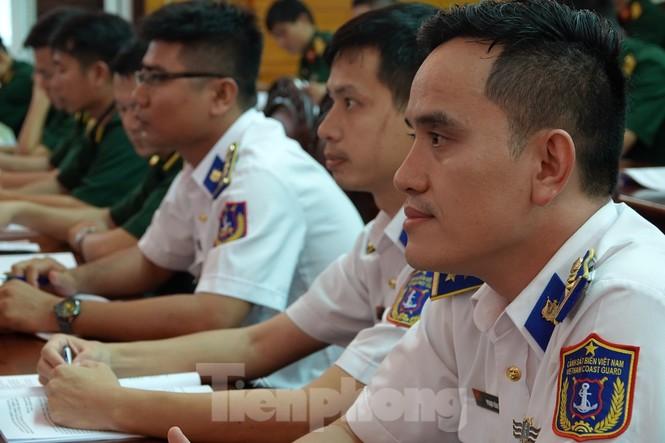 Thủ lĩnh Đoàn trong Quân đội học kỹ năng tuyên truyền pháp luật - ảnh 1