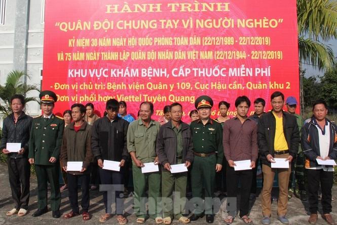 Quân đội tri ân tại chiến khu Tân Trào - ảnh 8