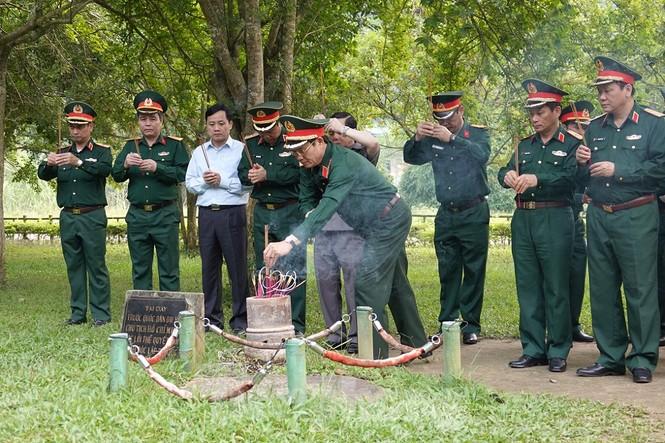 Quân đội tri ân tại chiến khu Tân Trào - ảnh 2