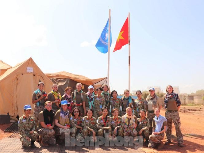 Sứ giả hoà bình Việt Nam thực hiện lời thề Hippocrates ở Nam Sudan - ảnh 8
