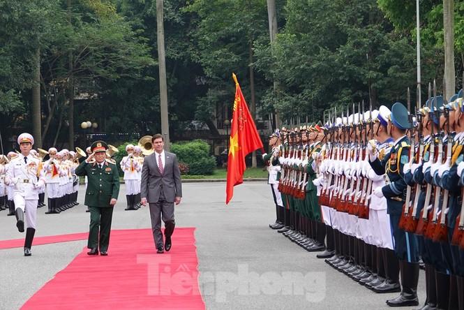 Bộ trưởng Quốc phòng Việt - Mỹ hội kiến tại Hà Nội - ảnh 2