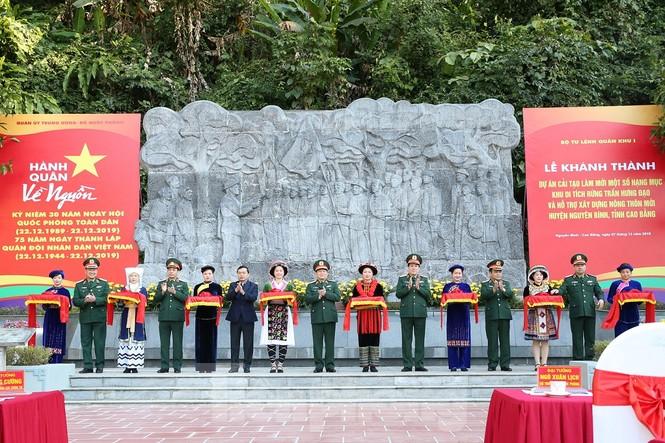 Khánh thành Dự án cải tạo Khu di tích Quốc gia đặc biệt rừng Trần Hưng Đạo - ảnh 6