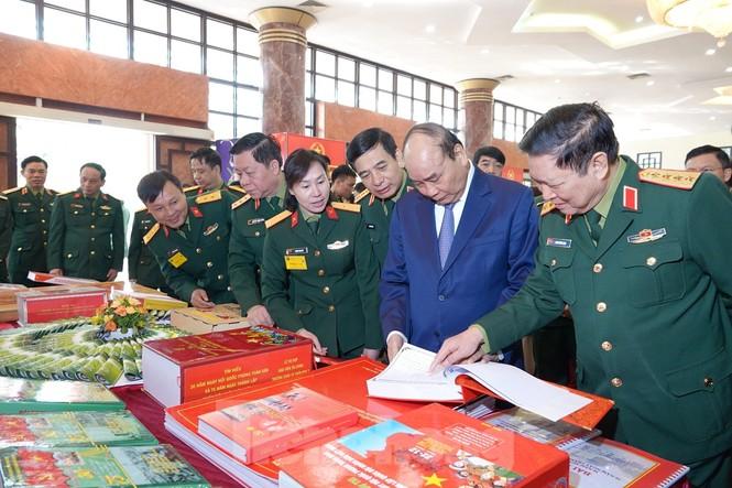 Thủ tướng Nguyễn Xuân Phúc dự Hội nghị Quân chính toàn quân - ảnh 2