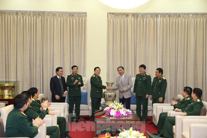 Đại tướng Ngô Xuân Lịch thăm và làm việc tại Quân khu 1 - ảnh 2