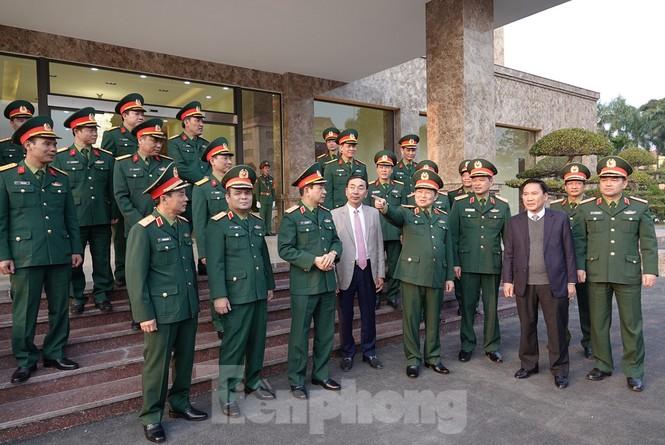 Đại tướng Ngô Xuân Lịch thăm và làm việc tại Quân khu 1 - ảnh 3