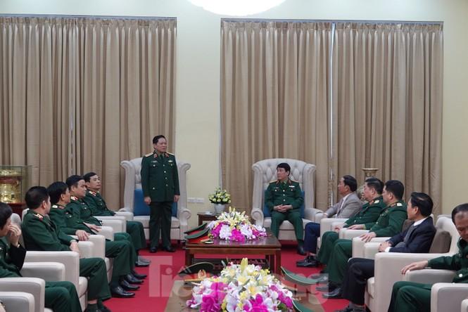 Đại tướng Ngô Xuân Lịch thăm và làm việc tại Quân khu 1 - ảnh 1