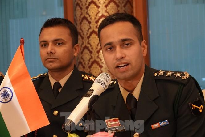 Tuổi trẻ Quân đội Việt Nam - Ấn Độ thắt chặt hợp tác - ảnh 2