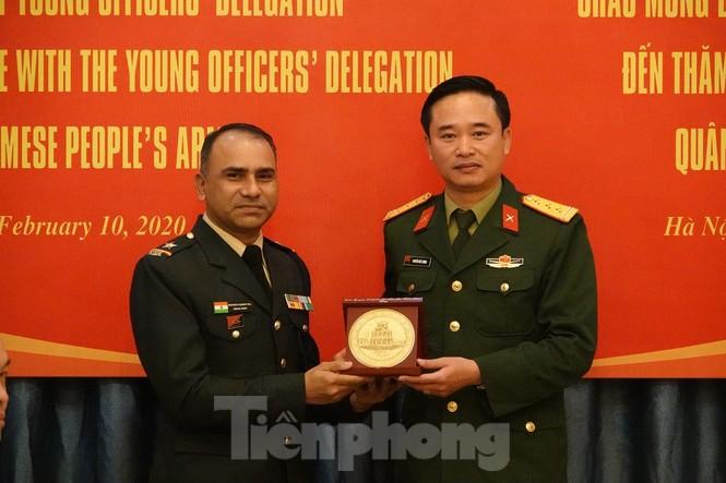 Tuổi trẻ Quân đội Việt Nam - Ấn Độ thắt chặt hợp tác - ảnh 4