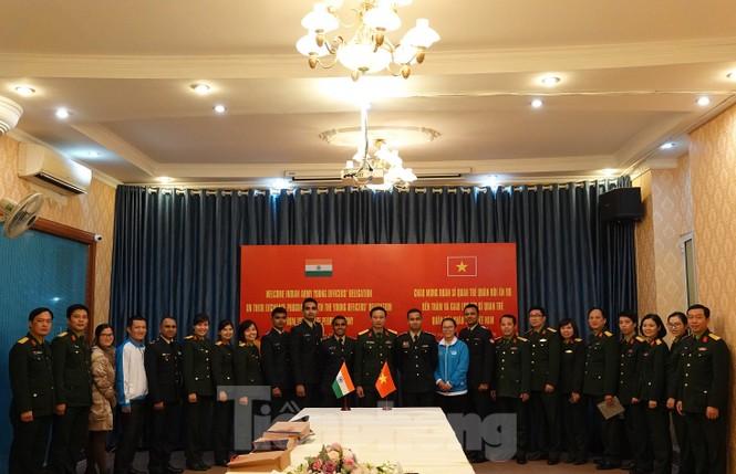 Tuổi trẻ Quân đội Việt Nam - Ấn Độ thắt chặt hợp tác - ảnh 5
