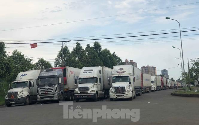 Trung Quốc dùng máy soi hàng, hàng trăm xe container Thanh Long ùn ứ ở cửa khẩu - ảnh 4