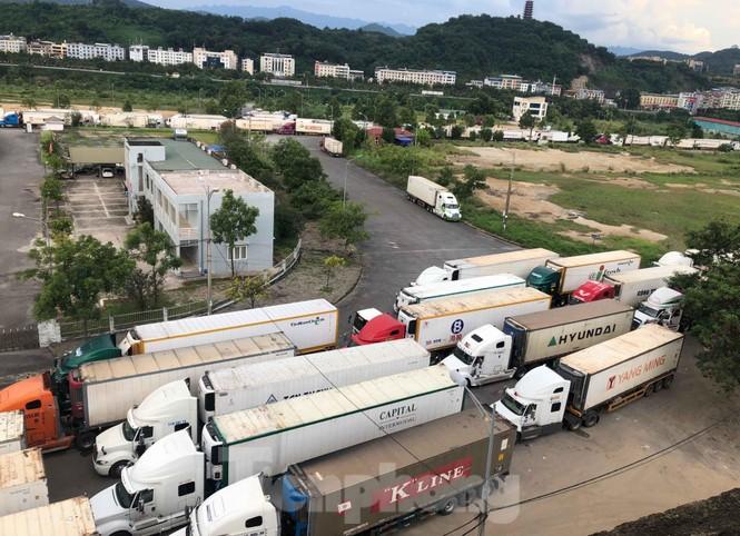 Trung Quốc dùng máy soi hàng, hàng trăm xe container Thanh Long ùn ứ ở cửa khẩu - ảnh 7
