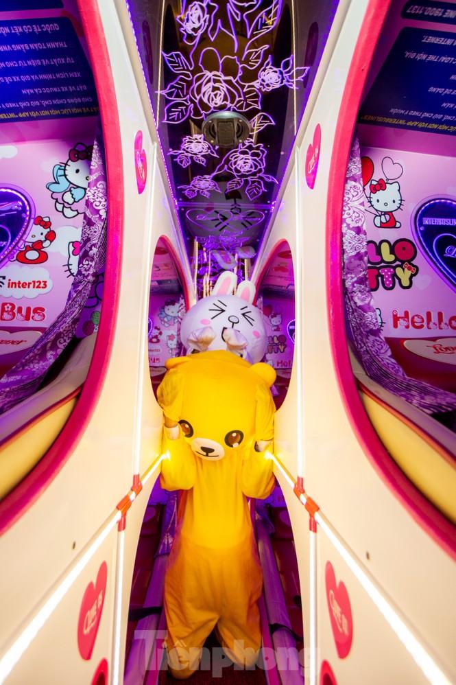 Kỳ lạ quái thú 'Pokémon' xuất hiện trên xe khách tình nhân đi SaPa - ảnh 3