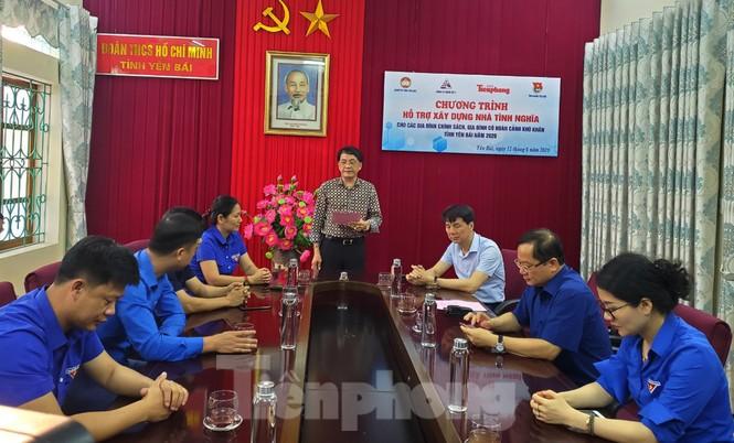 Hỗ trợ xây nhà tình nghĩa cho người có công và hộ nghèo tỉnh Yên Bái   - ảnh 1