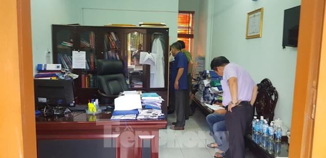 Trộm đột nhập phòng làm việc của lãnh đạo bệnh viện Thái Bình - ảnh 1