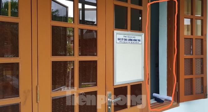 Trộm đột nhập phòng làm việc của lãnh đạo bệnh viện Thái Bình - ảnh 3