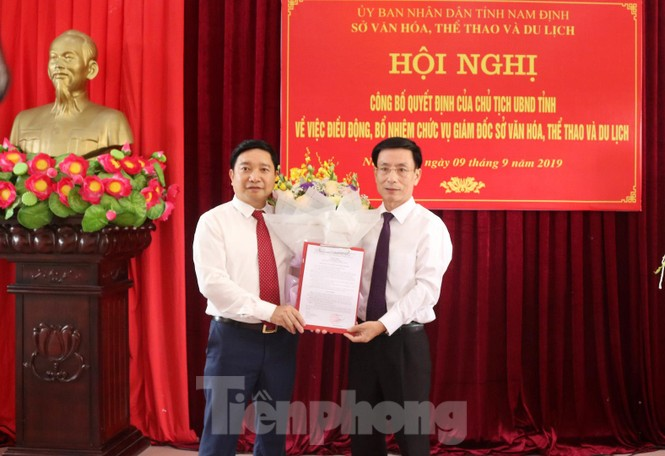 Nam Định bổ nhiệm Giám đốc Sở Văn hoá - Thể thao và Du lịch - ảnh 2