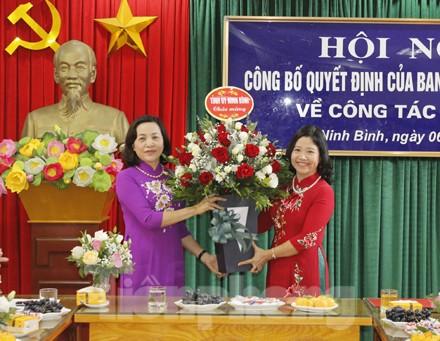 Ninh Bình, Nam Định phân công, bổ nhiệm nhân sự mới - ảnh 1