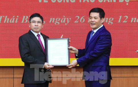 Thủ tướng, Ban Bí thư quyết định nhân sự tại Thái Bình - ảnh 2