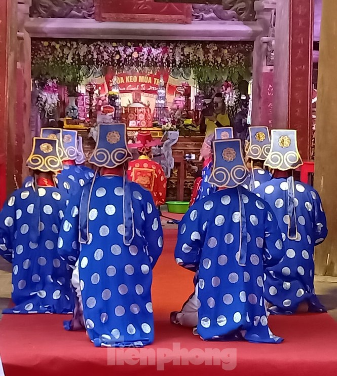Khai hội ngôi chùa cổ có gác chuông bằng gỗ cao nhất Việt Nam - ảnh 2