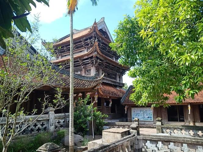 Khai hội ngôi chùa cổ có gác chuông bằng gỗ cao nhất Việt Nam - ảnh 4