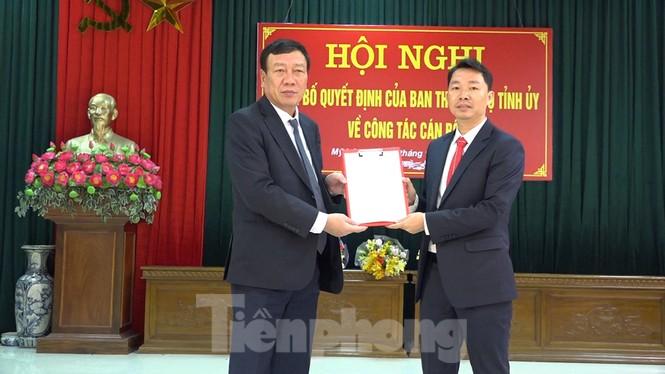 Nam Định có tân Trưởng Ban Nội chính Tỉnh uỷ, tân Bí thư Huyện uỷ Mỹ Lộc - ảnh 2