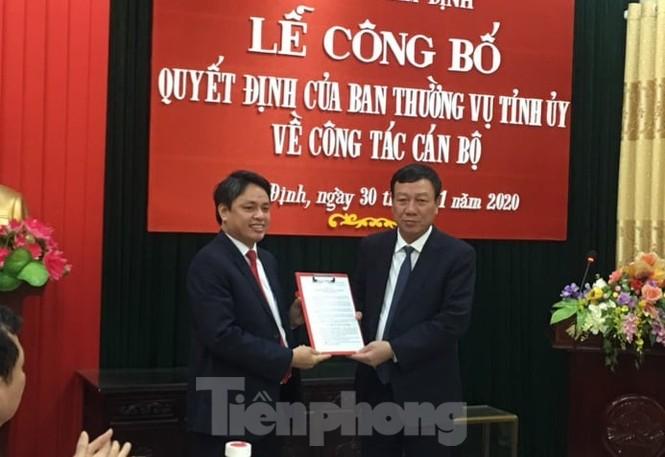 Nam Định có tân Trưởng Ban Nội chính Tỉnh uỷ, tân Bí thư Huyện uỷ Mỹ Lộc - ảnh 1