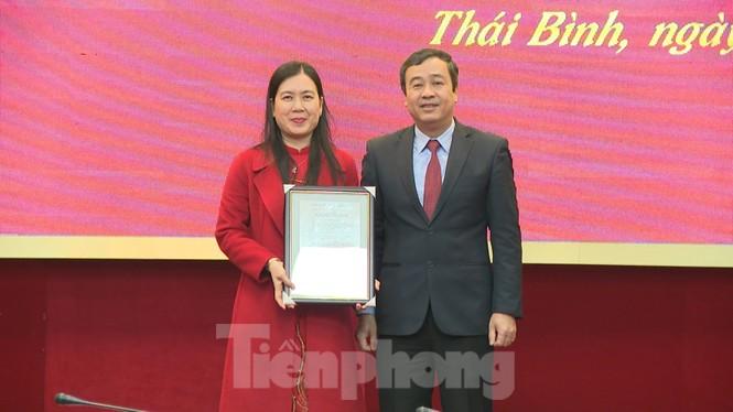 Thái Bình phân công, bổ nhiệm hàng loạt chức vụ lãnh đạo - ảnh 1