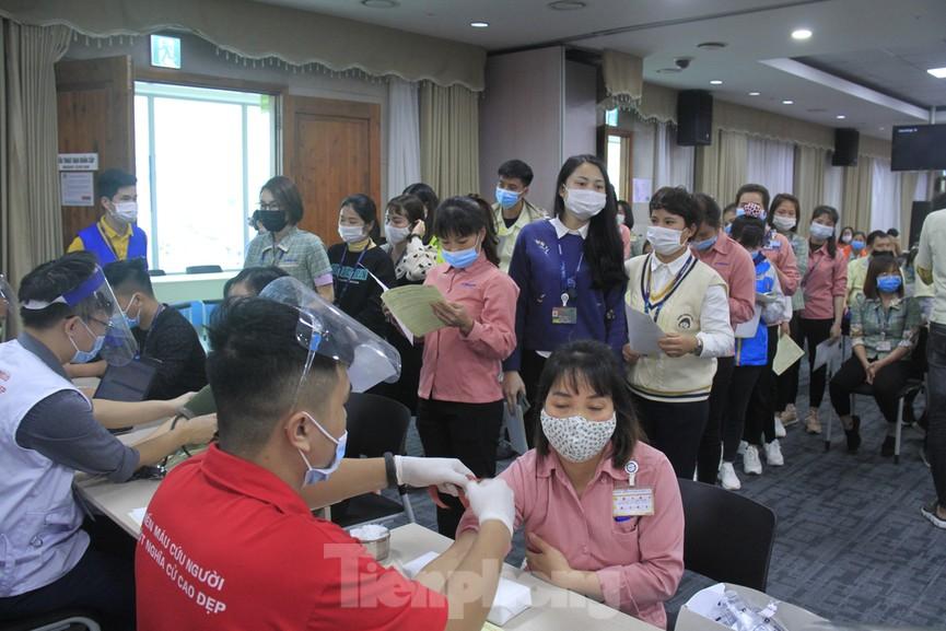 Samsung Việt Nam hiến máu hưởng ứng chương trình Chủ nhật Đỏ - ảnh 15