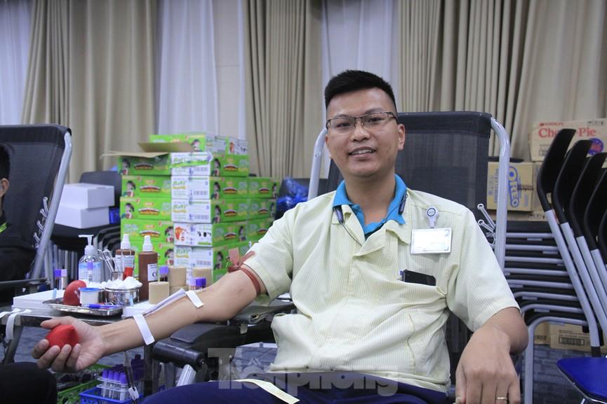 Samsung Việt Nam hiến máu hưởng ứng chương trình Chủ nhật Đỏ - ảnh 16