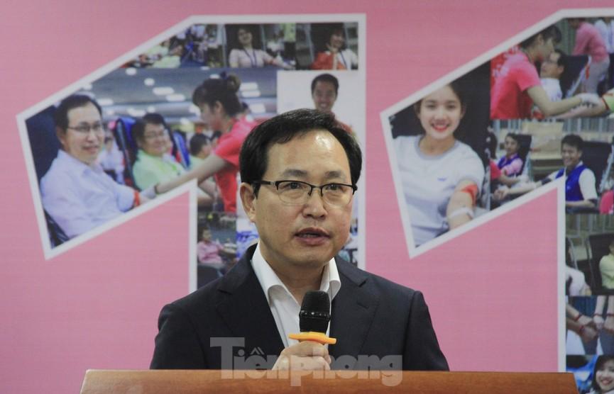 Samsung Việt Nam hiến máu hưởng ứng chương trình Chủ nhật Đỏ - ảnh 7