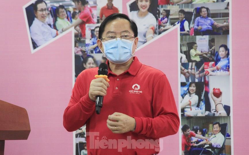 Samsung Việt Nam hiến máu hưởng ứng chương trình Chủ nhật Đỏ - ảnh 8