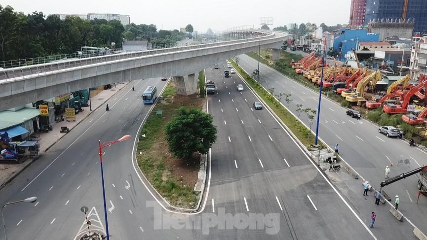 Nhìn từ trên cao nút giao thông cửa ngõ phía Đông Sài Gòn vừa thông xe - ảnh 3