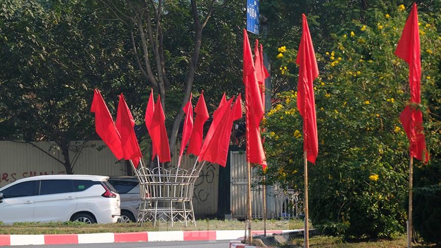 Trung tâm Hội nghị Quốc gia trang hoàng chuẩn bị Đại hội lần thứ XIII của Đảng - ảnh 5