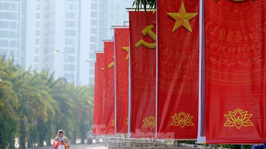 Trung tâm Hội nghị Quốc gia trang hoàng chuẩn bị Đại hội lần thứ XIII của Đảng - ảnh 9