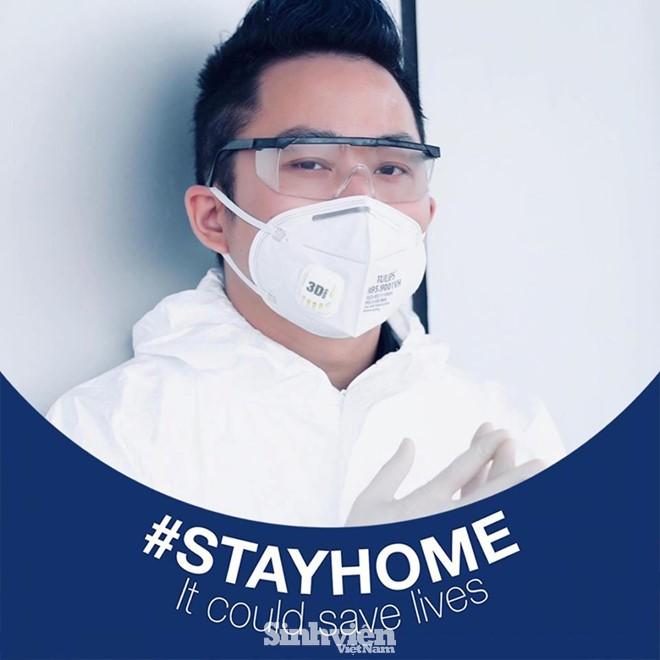 Sao Việt hưởng ứng phong trào #StayAtHome, kêu gọi mọi người cùng ở nhà phòng dịch - ảnh 6