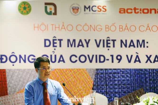 """Công bố kết quả nghiên cứu """"Dệt may Việt Nam: Tác động của COVID-19 và xa hơn nữa"""" - ảnh 1"""