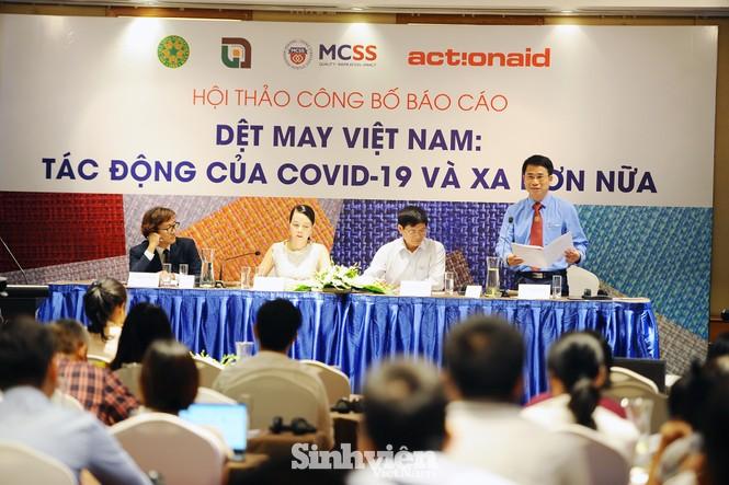 """Công bố kết quả nghiên cứu """"Dệt may Việt Nam: Tác động của COVID-19 và xa hơn nữa"""" - ảnh 3"""