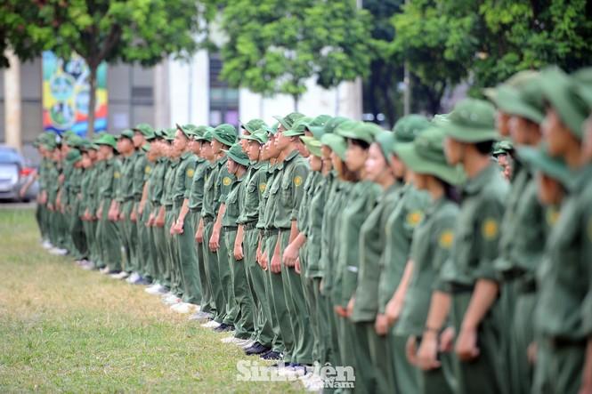 Gần 600 sinh viên dự hội thao ngoại khoá huấn luyện - ảnh 4