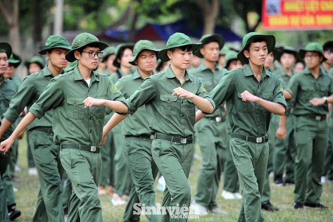 Gần 600 sinh viên dự hội thao ngoại khoá huấn luyện - ảnh 3