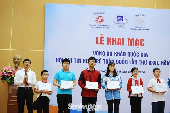 169 thí sinh tham dự vòng sơ khảo phía Bắc Hội thi Tin học trẻ toàn quốc - ảnh 1