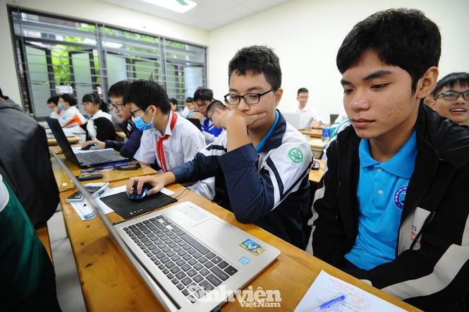 169 thí sinh tham dự vòng sơ khảo phía Bắc Hội thi Tin học trẻ toàn quốc - ảnh 3