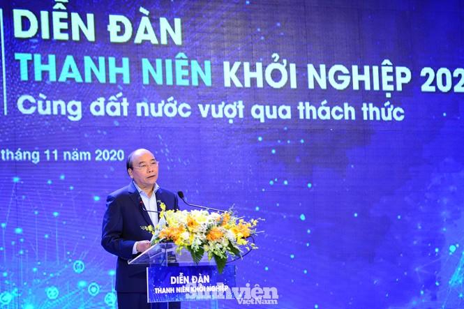 Thủ tướng Chính phủ Nguyễn Xuân Phúc đối thoại với Thanh niên khởi nghiệp - ảnh 6