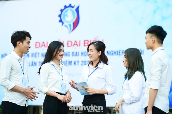 ĐH Công nghiệp Hà Nội có Chủ tịch Hội sinh viên mới - ảnh 12