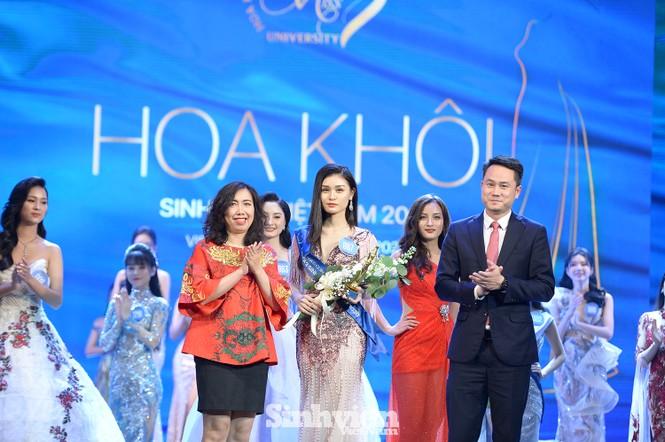 Nữ sinh ĐH Nam Cần Thơ đăng quang Hoa khôi Sinh viên Việt Nam 2020 - ảnh 4