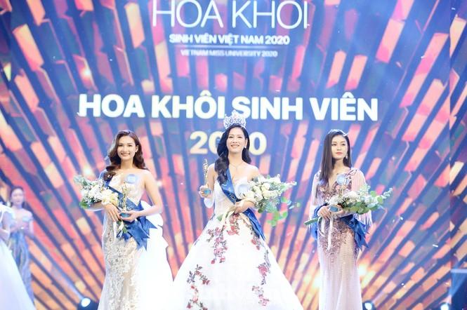 Nữ sinh ĐH Nam Cần Thơ đăng quang Hoa khôi Sinh viên Việt Nam 2020 - ảnh 1