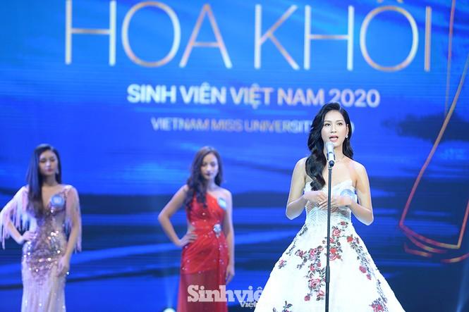 Nhan sắc rạng ngời của nữ sinh viên giành vương miện Hoa khôi Sinh viên Việt Nam 2020 - ảnh 2