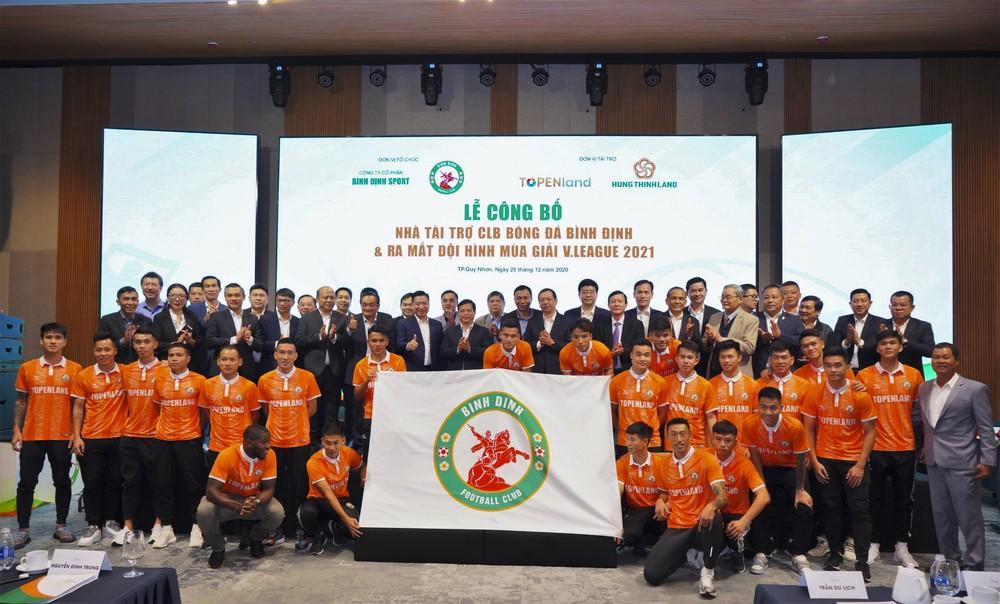 Quay lại sân chơi V.League , CLB Bình Định nhận tài trợ 'khủng' 300 tỷ