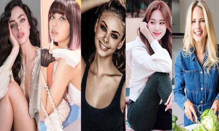 Nhan sắc cực phẩm của top 5 gương mặt đẹp nhất thế giới năm 2020