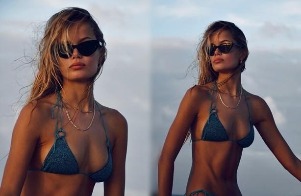 Vẻ đẹp thiên thần của nàng mẫu Na Uy Frida Aasen